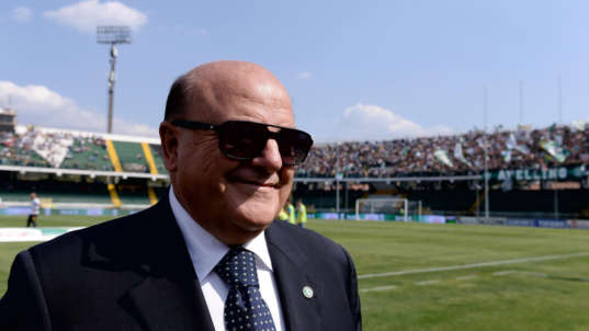 TFN: Avellino penalizzato di tre punti, assolto il presidente Taccone