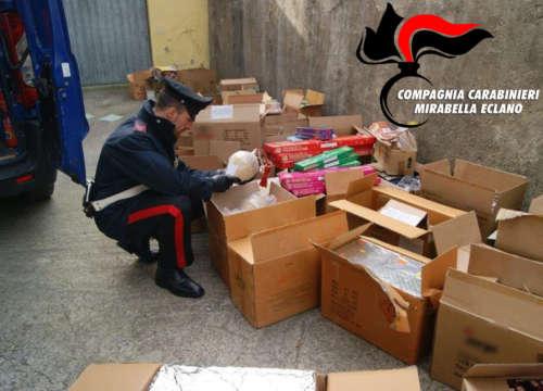 carabinieri botti illegali