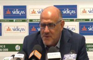 Calcio Avellino SSD dopo stop Aprilia: Graziani, 'Lavoriamo per riprenderci la vetta'
